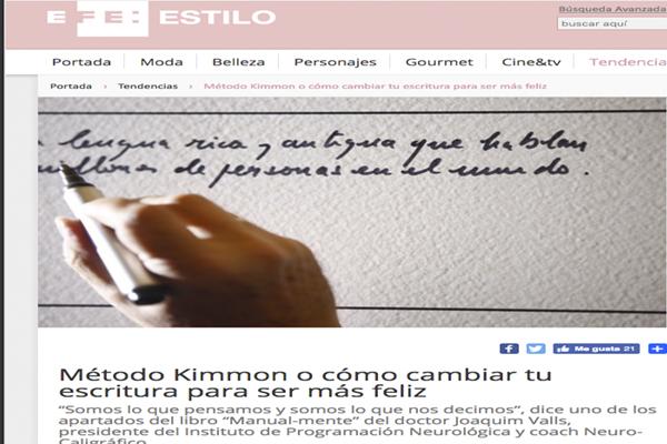 Método Kimmon o cómo cambiar tu escritura para ser más feliz