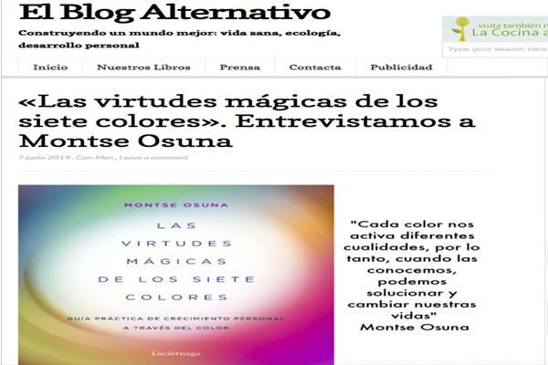 «Las virtudes mágicas de los siete colores»