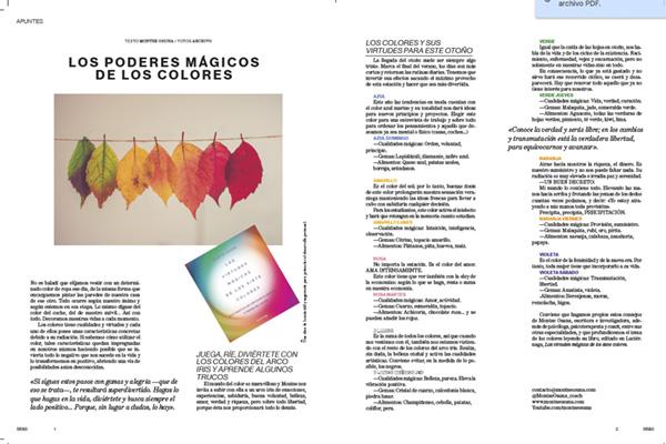 Los Poderes Mágicos de los colores