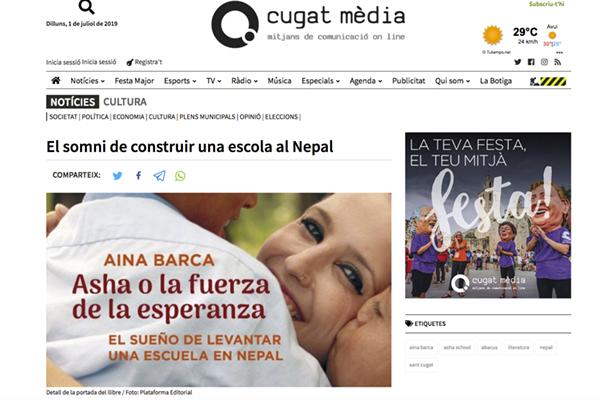 El somni de construir una escola al Nepal