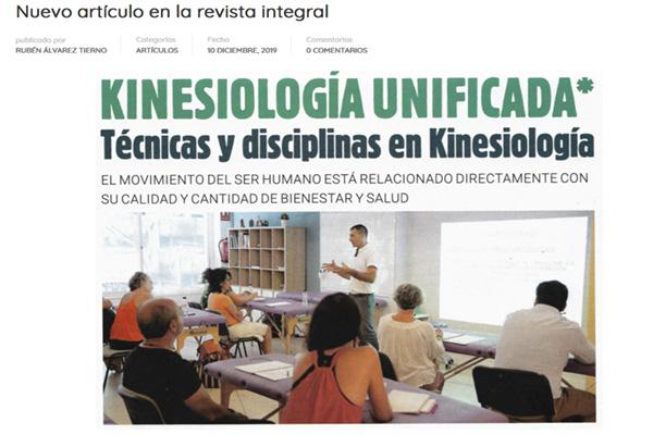 KINESIOLOGÍA UNIFICADA- Técnicas y disciplinas