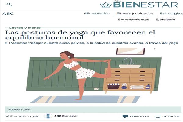 Las posturas de yoga que favorecen el equilibrio hormonal