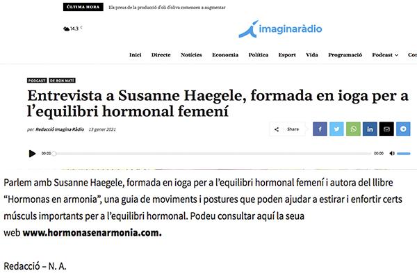 Entrevista a Susanne Haegele