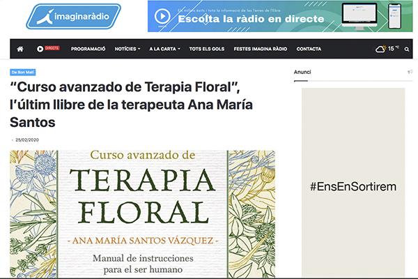 """""""Curso avanzado de Terapia Floral"""""""