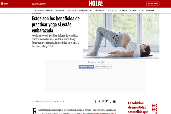 Beneficios de practicar yoga si estás embarazada