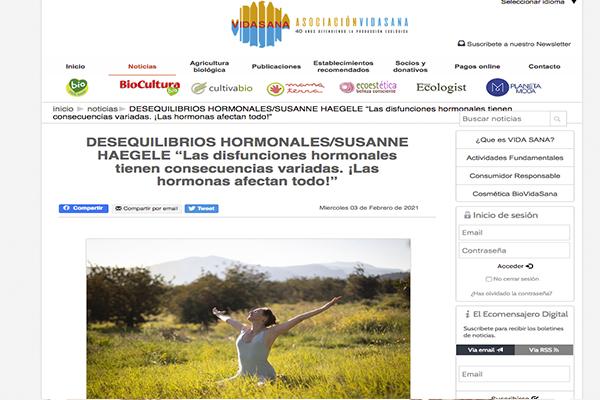 DESEQUILIBRIOS HORMONALES/SUSANNE HAEGELE